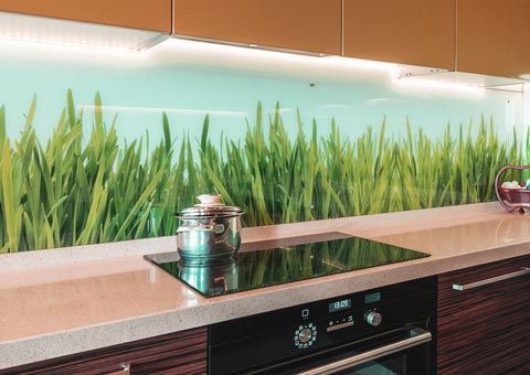 Cristales para decoraci n de cocinas - Frente cocina cristal ...