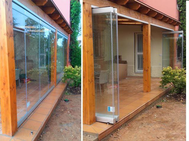 Cortinas de cristal en sevilla para casas tiendas y oficinas - Cristalerias en sevilla ...