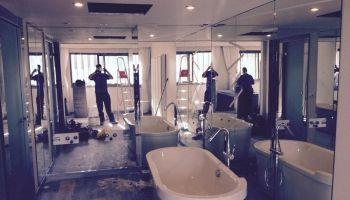 Instalación de Vidrio en habitación Hotel Meliã Los Lebreros