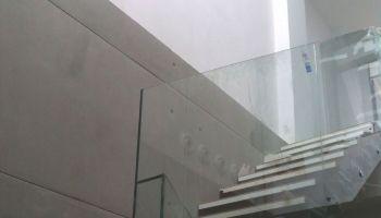 Barandillas de vidrio Cristalería Athair